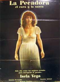 La Pecadora (el Cura y la Santa) [movie poster]. (Cartel de la película).: Dirección: ...