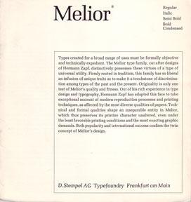 Melior.: D. Stempel AG