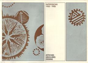 Impressions 1900-1950: Affiches, gravures, dessins.: Lebrave, Deborah Glusker,