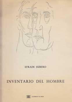 Inventario del Hombre.: Subero, Efrain.