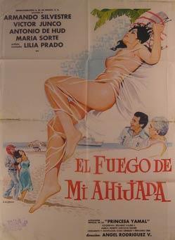 El Fuego de Mi Ahijada. Movie poster. (Cartel de la Película).: Dirección: Ángel Rodríguez ...