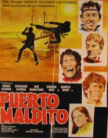 Puerto Maldito. Movie poster. (Cartel de la Película).: Dirección: Alfredo B. Crevenna. Con ...