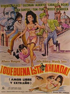 Que Buena Esta Mi Ahijada! Movie poster. (Cartel de la Película).: Dirección: Juan José ...