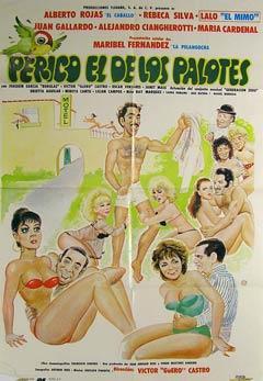 Perico El de los Palotes. Movie poster. (Cartel de la Película).: Dirección: Víctor Manuel ...