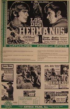 Los Dos Hermanos. Movie poster. (Cartel de la Película).: Dirección: Emilio Gomez Muriel. ...