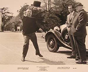 Goldfinger (James Bond 007). Movie photograph.: With Sean Connery, Honor Blackman, Gert Frobe.