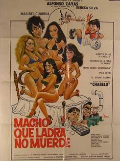 Macho Que Ladra No Muerde. Movie poster. (Cartel de la Película).: Dirección: Victor Manuel ...