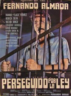 Perseguido Por la Ley. Movie poster. (Cartel de la Película).: Dirección: Fernando Durán ...