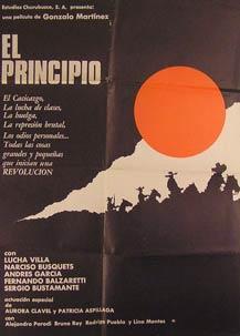 El Principio. Movie poster. (Cartel de la: Dirección: Gonzalo Martínez