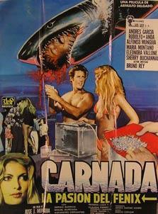 Carnada: La Pasion del Fenix. Movie poster. (Cartel de la Película).: Dirección: Juan José ...