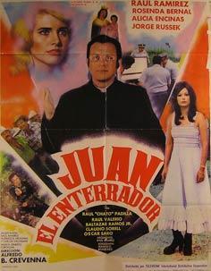 Juan el Enterrador. Movie poster. (Cartel de la Película).: Dirección: Alfredo B. Crevenna. ...
