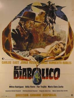 El Diabolico. Movie poster. (Cartel de la Película).: Dirección: Giovanni Korporaal. Con ...