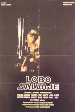 Lobo Salvaje. Movie poster. (Cartel de la Película).: Dirección: Rubén Galindo. Con Miguel ...