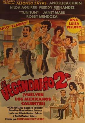 El Vecindario 2a Parte. Movie poster. (Cartel de la Película).: Dirección: Gilberto Martinez...