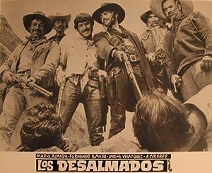 Los Desalmados. Movie poster. (Cartel de la Película).: Dirección: Ruben Galindo. Con Mario Almada,...