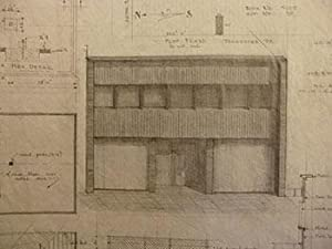 Building Plans, Elevation, and Perspective for Melvin Vick, 1001 Tennessee St., San Francisco.: ...