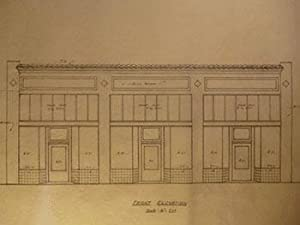 Building Plans and Elevation for a Proposed Building for V. Chacanelis on San Bruno Ave., San ...
