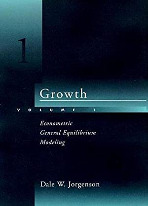 Growth, Volume 1: Econometric General Equilibrium Modeling