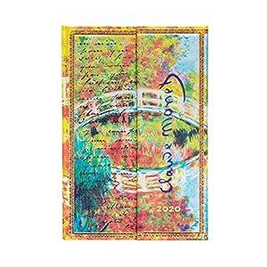 Faux Leder Mitternachtsstahl Kalender 2021 Mini Horizontal Paperblanks