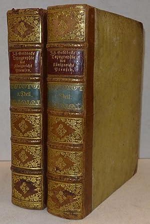 Vollständige Topographie des Königreichs Preussen.: Johann Friedrich Goldbeck