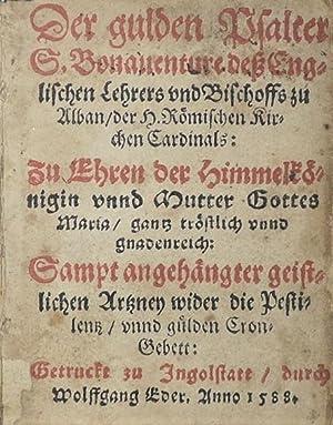 Der gulden Psalter S. Bonauenture dess Englischen: St. Bonaventure