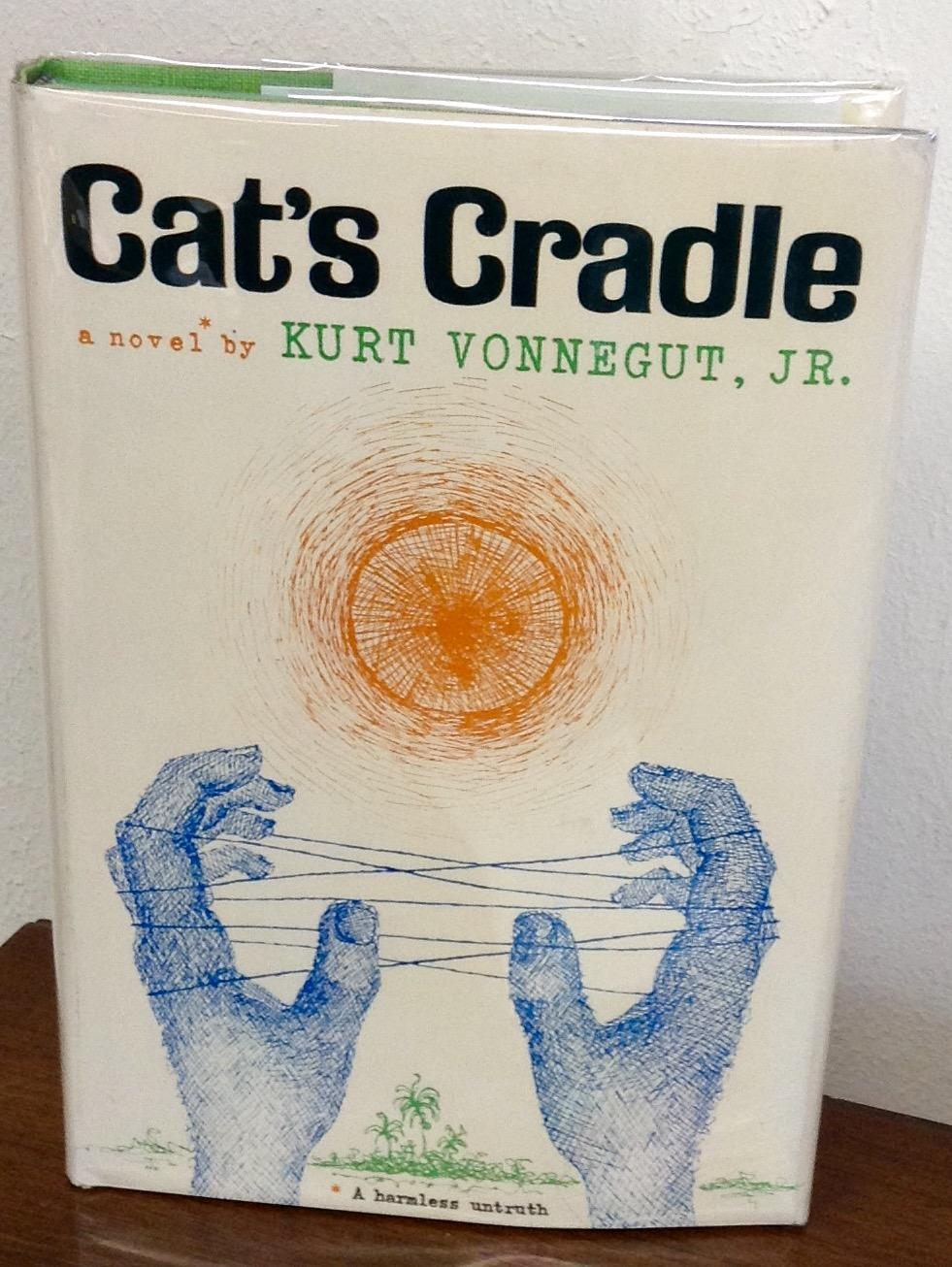 an analysis of the use of literary distortion in cats cradle by kurt vonnegut Cat's cradle is a science fiction novel by american writer kurt vonnegut, first published in 1963 his fourth novel, it explores issues of science, technology, and religion, satirizing the arms race and many other targets along the way.