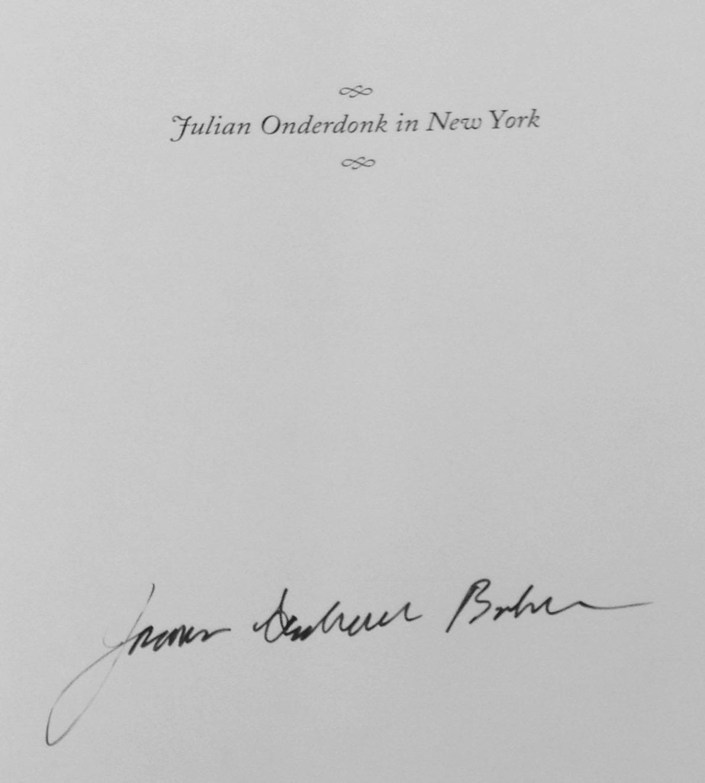 New York, Signed - AbeBooks