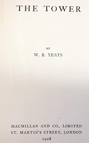 The Tower: Yeats, W.