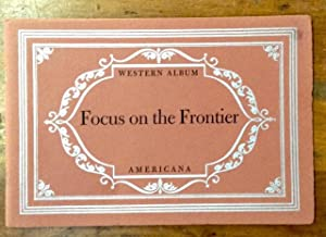Focus on the Frontier: Haley, J Evetts