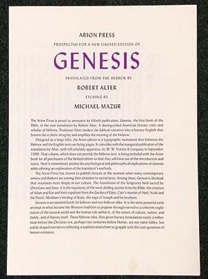 Genesis: Alter, Robert-Translator