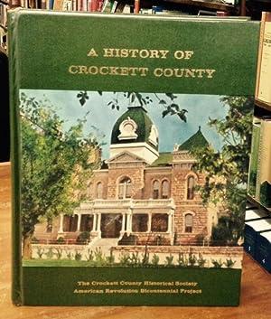A History of Crockett County: The Crockett County Historical Society