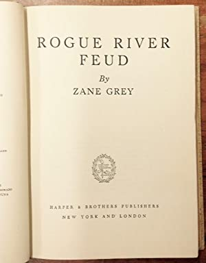 Rouge River Feud: Grey, Zane