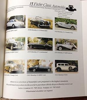 Bentley: The Silent Sports Car 1931-1941: Ellman-Brown, Michael