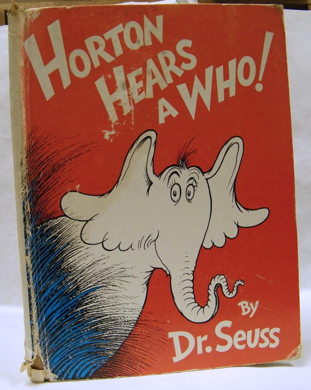 Horton Hears a Who 1ST Edition Dr Seuss Fair Hardcover