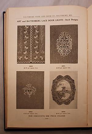 Baltimore Sash & Door Company 1909: Baltimore Sash & Door Company