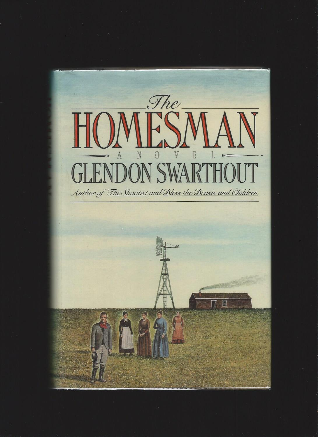 The Homesman Swarthout, Glendon Fine Hardcover