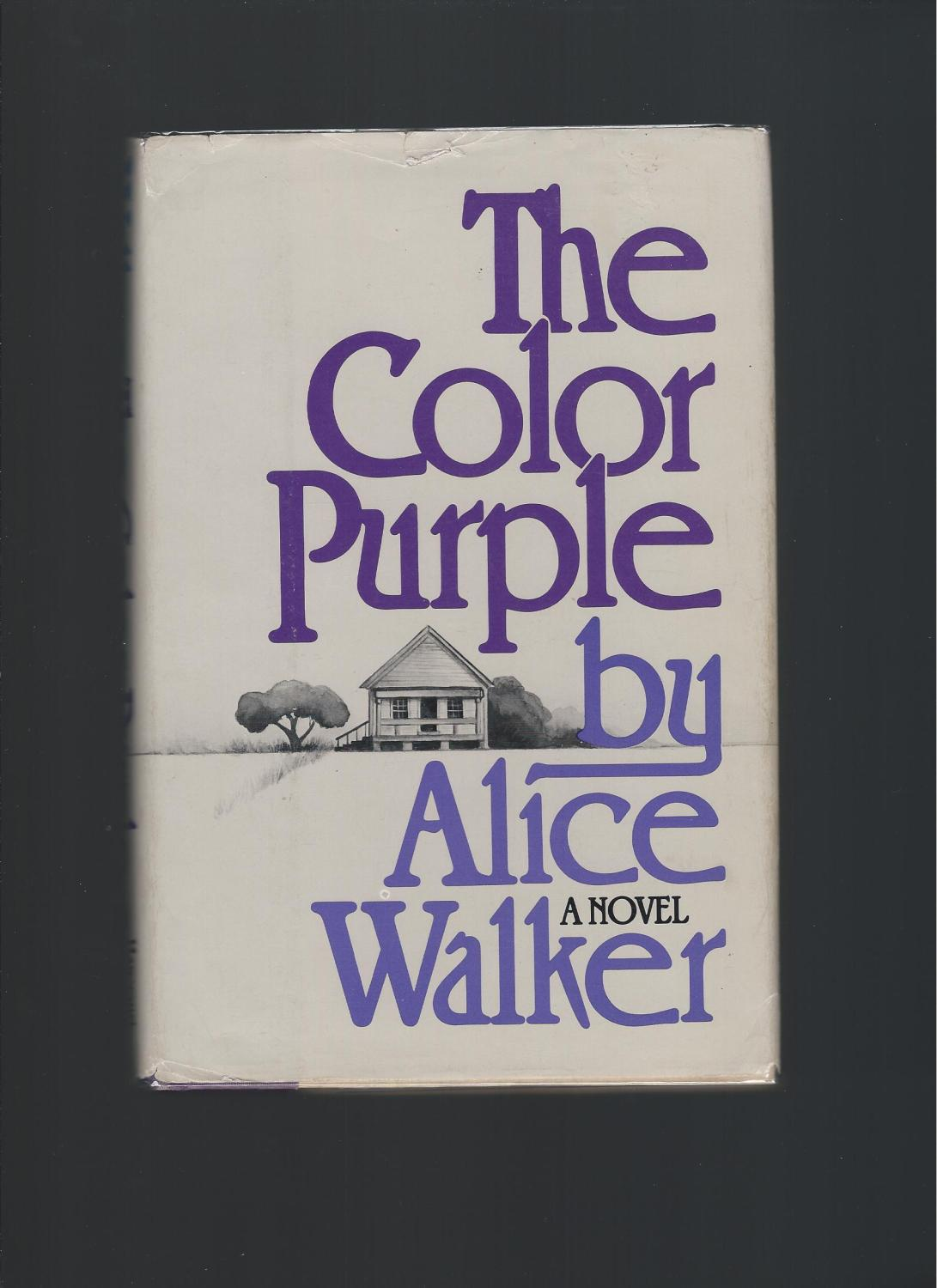The Color Purple by Walker, Alice: Harcourt Brace Jovanovich, New ...
