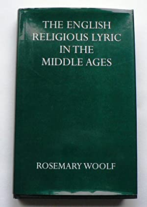 The English Religious Lyric in the Middle Ages.