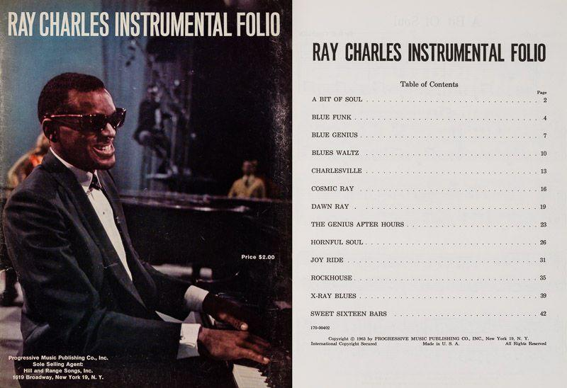 Ray Charles Instrumental Folio. Charles, Ray. Softcover