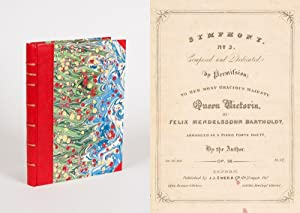 Collection / Sammelband of original, printed scores.: Mendelssohn Bartholdy /