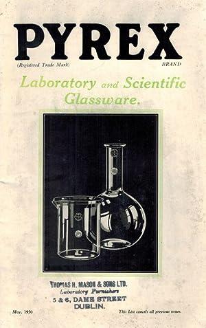 Pyrex Laboratory And Scientific Glassware.: Pyrex.