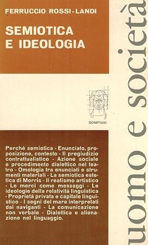 Semiotica E Ideologia.: Rossi-Landi, Ferruccio.