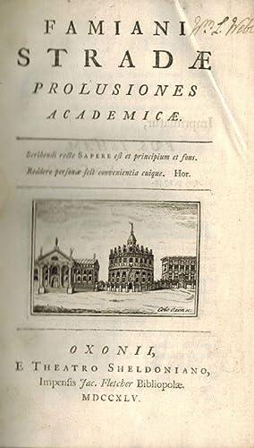 Famiani Stradae profusiones academicae.: Strada, Famiano.