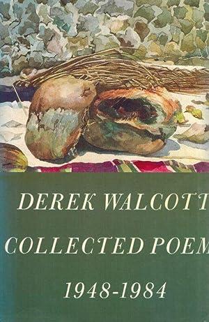 Collected Poems: 1948-1984.: Walcott, Derek.
