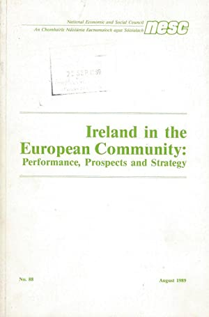 Ireland in the European Community - Performance,: National Economic and