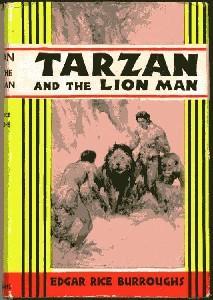 Tarzan and the Lion Man: Edgar Rice Burroughs