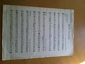Barocke Spielmusik /Sopranblockflöte: Hubert Zanoskar/ Johann