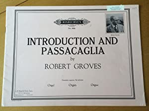 Introduction and Passacaglia: Robert Samuel Groves