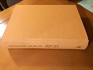 Geography of Israel: Efraim Orni and