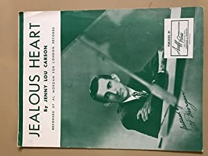 Jealous Heart,: Jenny Lou Carson